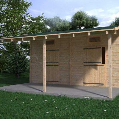 Quali dimensioni deve avere un box per cavalli in legno?