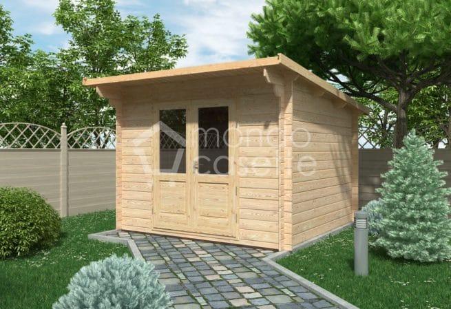 Casetta in legno Minija - 3x3