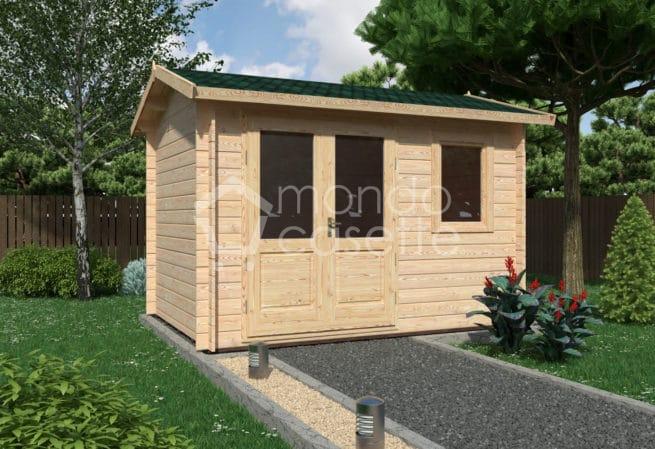 Casetta in legno Ula - 3,4x2,5