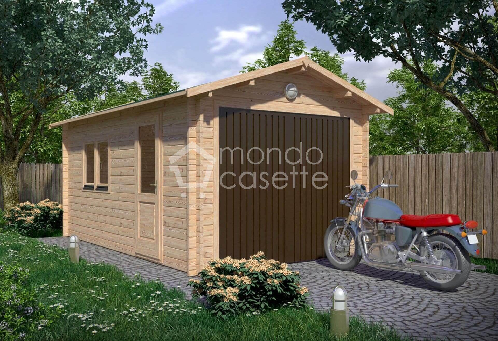 Garage/1 - 3,2x5,2 - pareti da 45 mm