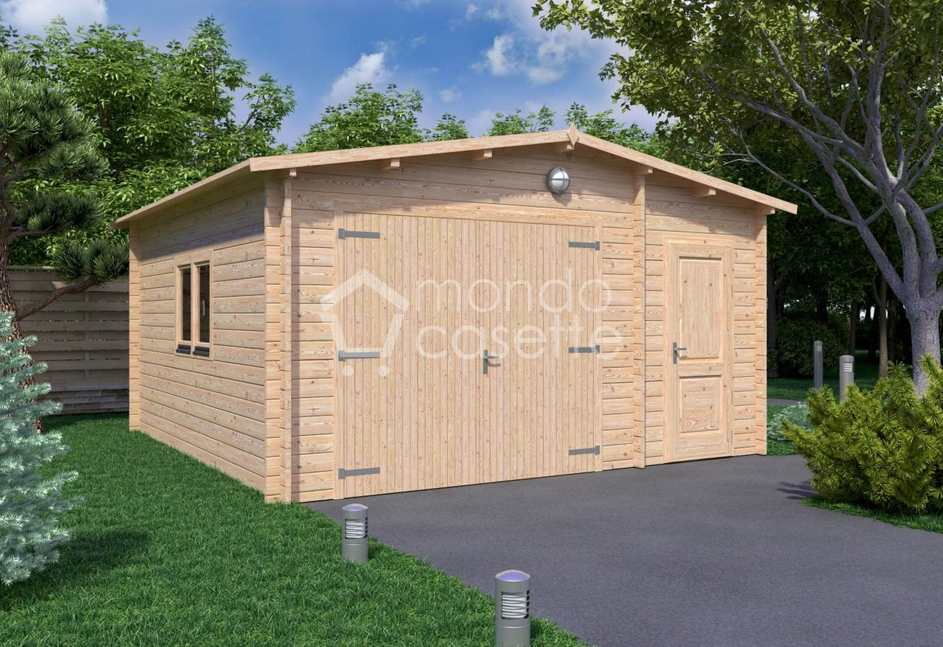 Garage/5 - 5x5 - pareti da 45 mm