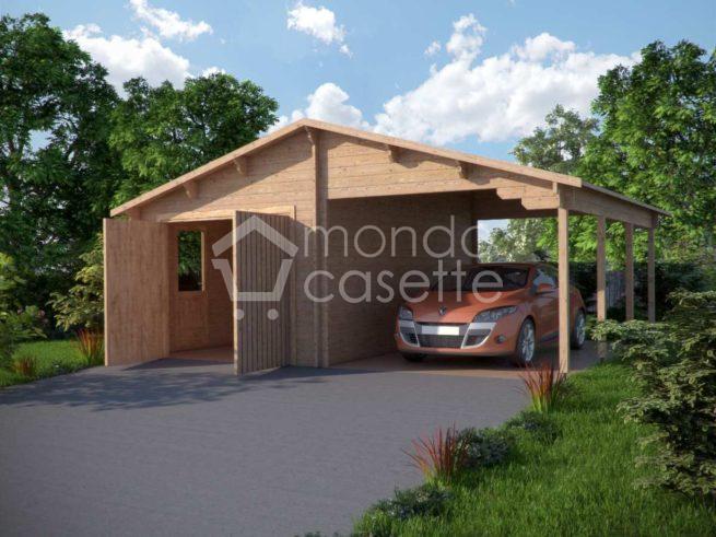 Garage in legno 4 -6,8x5,6