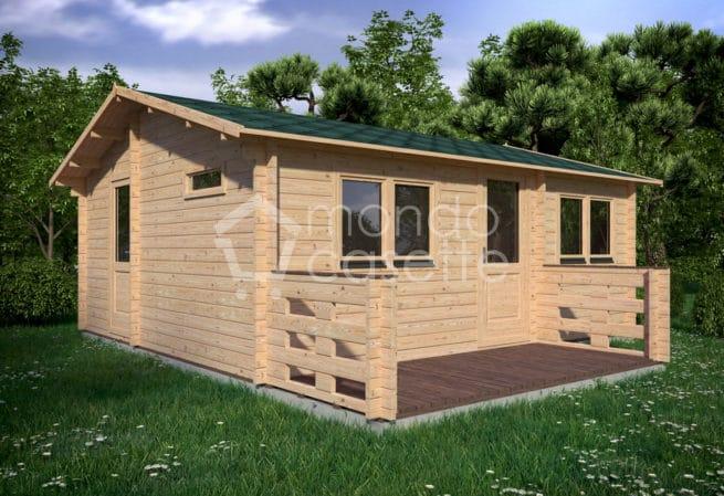 Casetta in legno Audra - 6x6,7