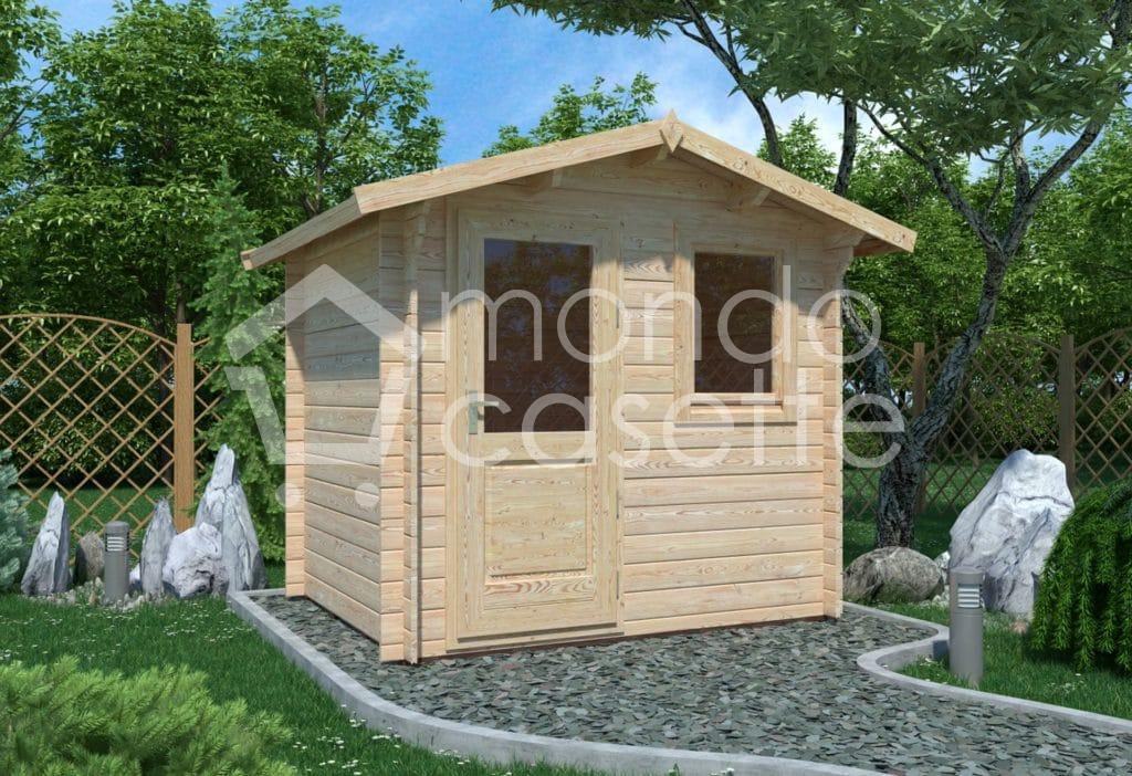 Casetta in legno Mantova - 250x200
