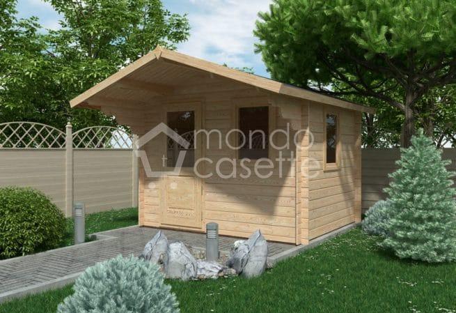 Casetta in legno Modena - 3x2,5