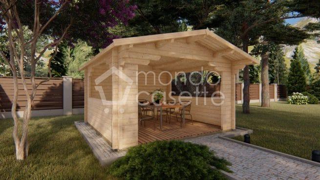 Gazebo in legno Pave2 - 4x4