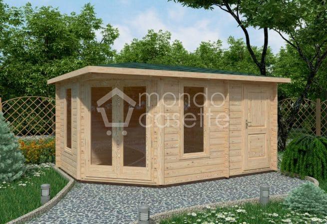 Casetta in legno Capri - 4,4x3
