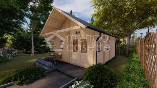 Casa in legno Torino - 4,5×6