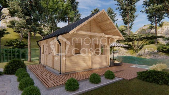 Bungalow in legno Torino - 4,5×6