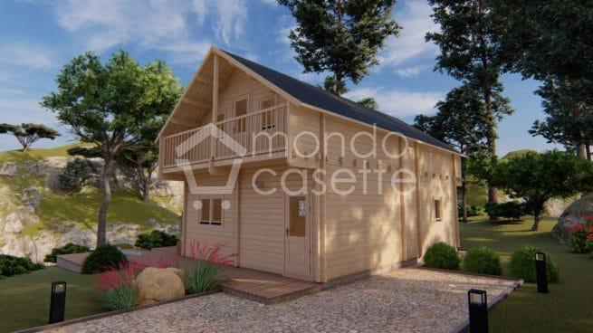 Chalet casa in legno Verona - 8,7×5,7