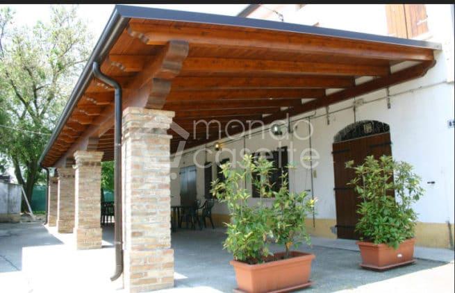 grondaie zincate per tetto case di legno