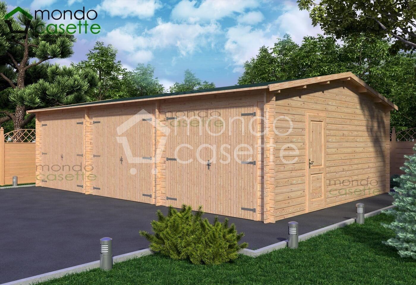 Garage/7 - 9x6 - pareti da 45 mm