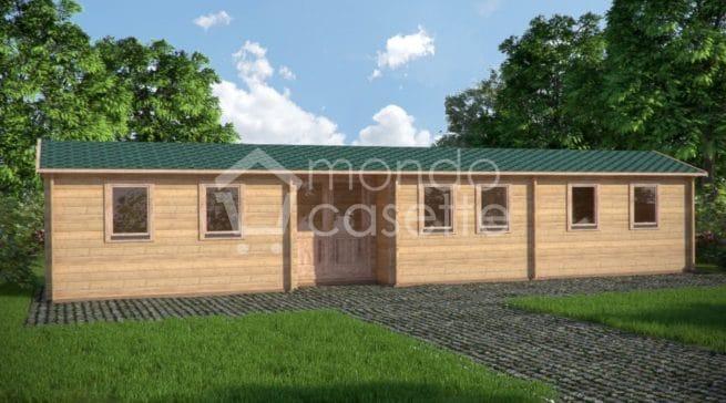 Casetta in legno Grutas - 13x3