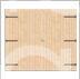 Portone in legno due battenti
