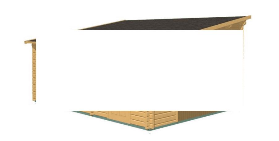 Struttura Garage 6x5 - 68 mm