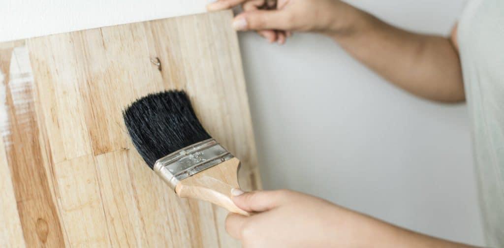 dipingere il legno