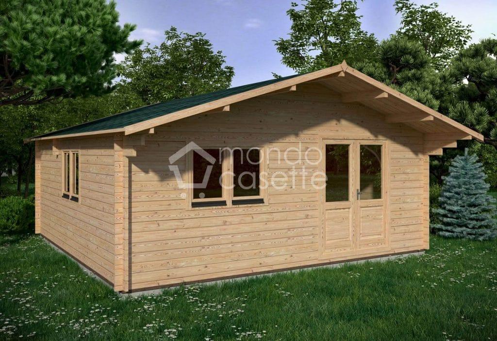 ufficio in legno 6x6