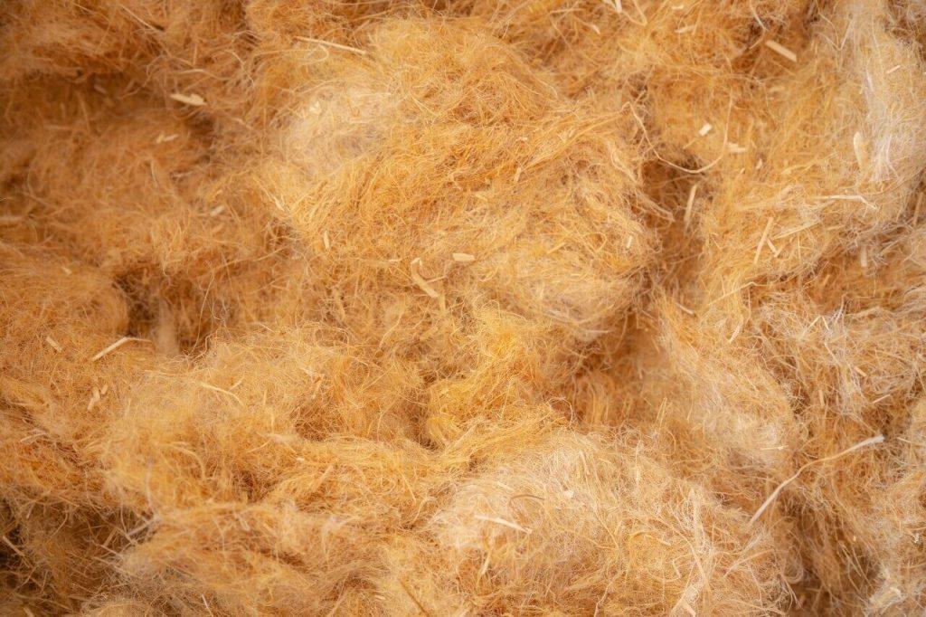 fibra di legno e lana di roccia